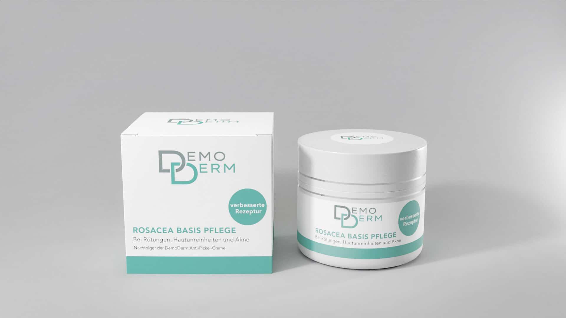 DemoDerm Rosacea Basis Pflege 20 g