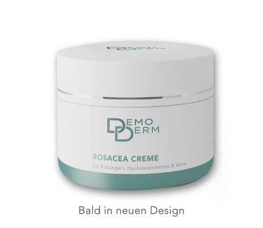 DemoDerm Rosacea Basis Pflege bald im neuen Design